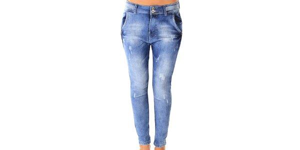 Dámské světlé skinny džíny s šisováním Ada Gatti