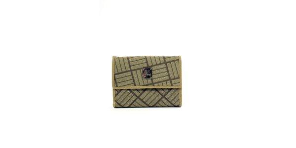 Dámská peněženka v zelenkavé barvě Gianfranco Ferré