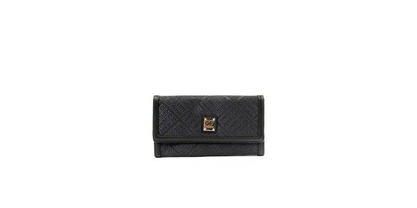 Dámská černá peněženka s odděleními Gianfranco Ferré