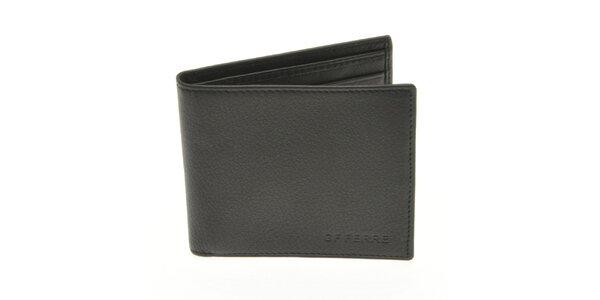 Pánská černá kožená peněženka Gianfranco Ferré