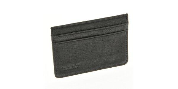 Pánská černá kapsa na hotovost či doklady Gianfranco Ferré