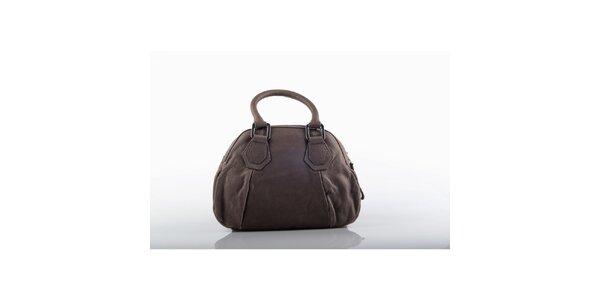 Dámská kožená kabelka v hnědé barvě Gianfranco Ferré