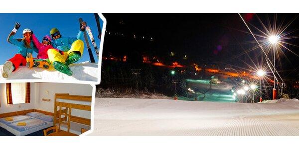 7 nocí pro dva v lyžařském středisku Deštné v Orlických horách