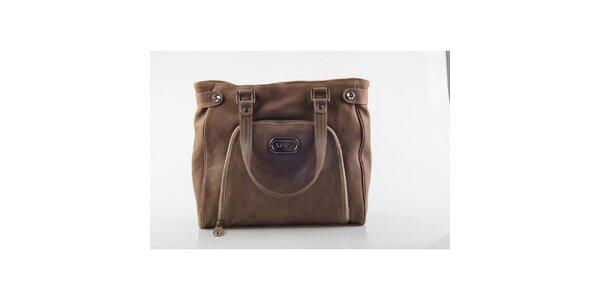 Dámská hnědá kabelka Versace
