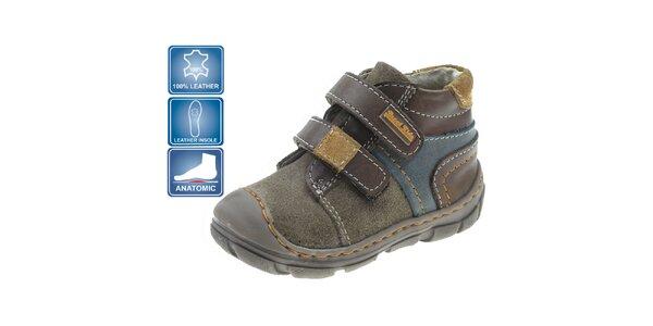Dětské barevné kotníkové boty Beppi