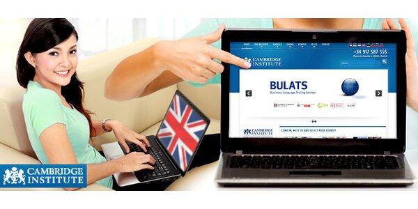 Online kurzy angličtiny s Cambridge Institute