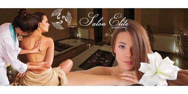 Exklusivní 60minutová císařská masáž - jedinečný luxus pro náročné