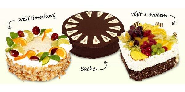 Nejlepší dorty cukrárny Cherry + sladký dárek
