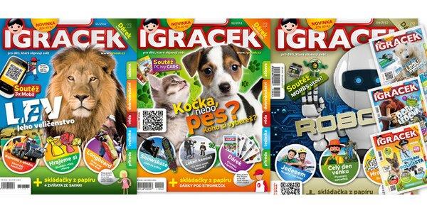 Časopis Igráček pro zvídavé děti