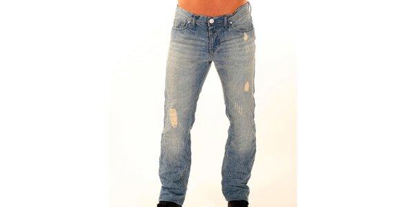 Pánské světle modré džíny New Caro