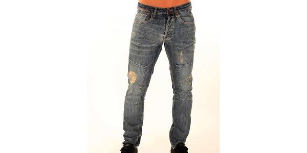 Pánské džíny s trhlinami New Caro
