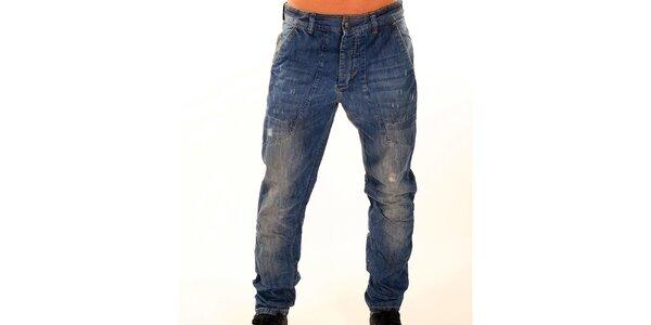 Pánské tmavě modré džíny New Caro