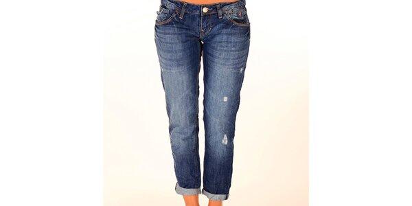 Dámské modré džíny New Caro