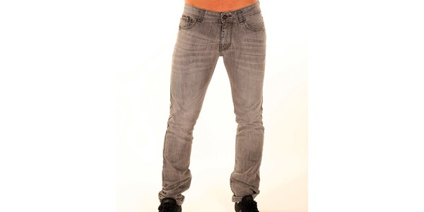 Pánské šedé džíny New Caro