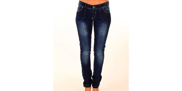 Dámské tmavě modré džíny New Caro