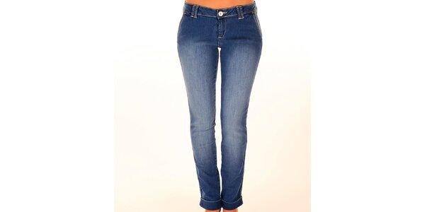 Dámské modré úzké džíny New Caro