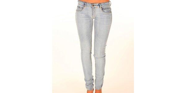 Dámské světle modré úzké džíny New Caro