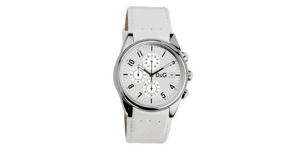 Dámské hodinky s koženým páskem Dolce & Gabbana