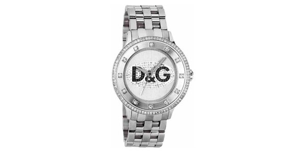 Dámské hodinky z pozlacené nerezové oceli Dolce & Gabbana