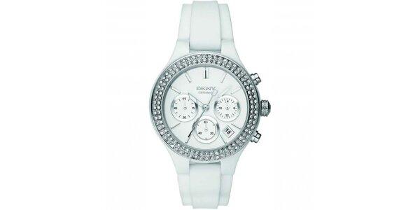 Dámské hodinky se silikonovým páskem DKNY