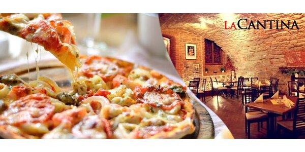 2 vynikající pizzy z pravé kamenné pece