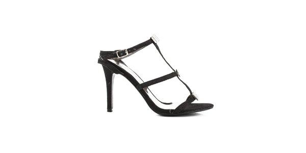 Dámská pásková obuv s kamínky Paolo Santini
