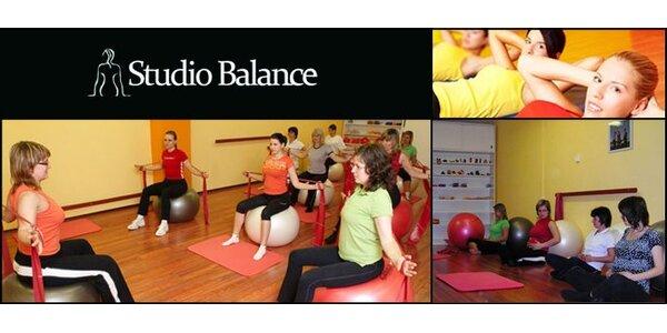 249 Kč za permanentku na 5 vstupů do Studia Balance. Cvičení se slevou 58 %
