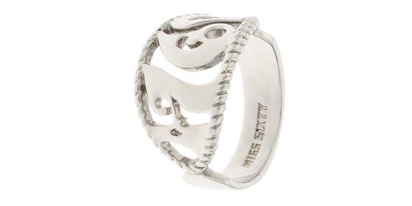 Dámský prsten s atypickým vzorem Miss Sixty