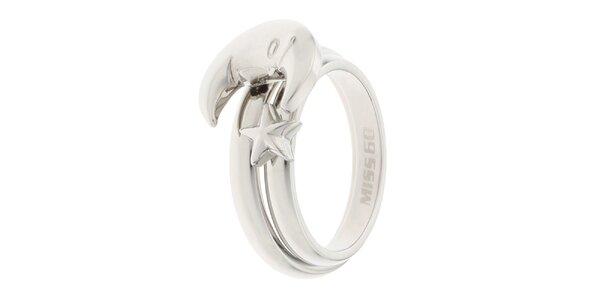 Dámský prsten s motivem měsíce Miss Sixty