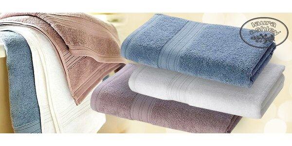 2 osušky + 2 ručníky značky Laura Ashley