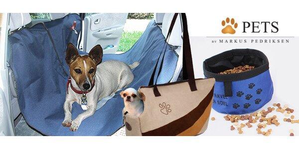 Chytré doplňky pro pohodlnou přepravu zvířat
