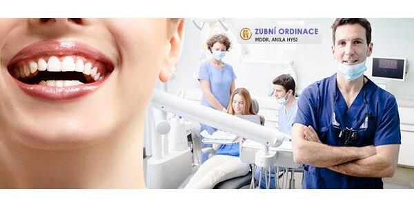 Dentální hygiena s Air-Flow a prohlídkou chrupu