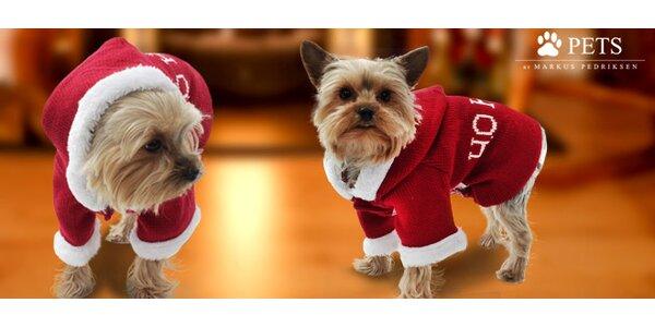 Poslední šance! Santaclausovské oblečky pro psy
