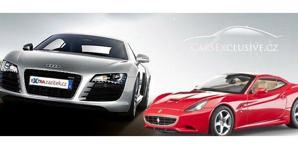 Super jízda v supersportech! Audi R8, Nissan GTR i Ferrari.