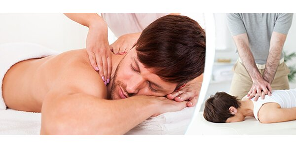 Uvolňující masáž zad, šíje nebo celého těla