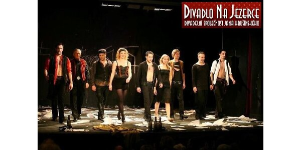 2 vstupenky na představení Já, Francois Villon