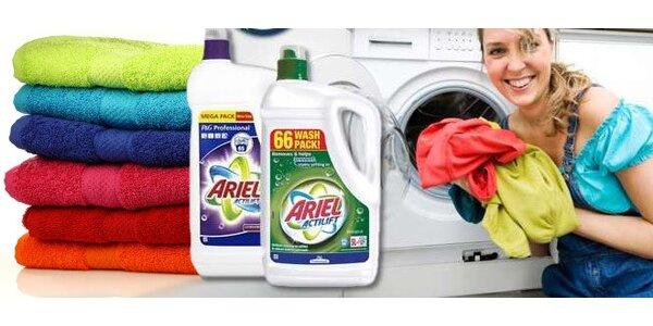 4,7 l Ariel Actilift™ pro čisté prádlo a zářivé barvy oblečení