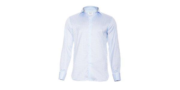 Pánská slim-fit košile na manžetové knoflíčky Vincenzo Boretti