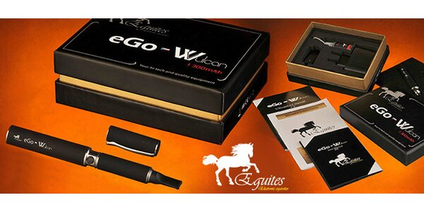 Elektronická cigareta Equites eGo-Wulcan