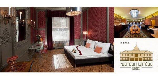4496 Kč za přepychový pobyt pro dva na zámku Chateau Kotěra. Sleva 60 %!
