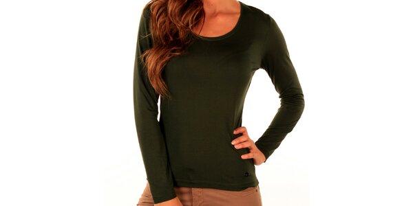 Dámské zelené tričko Trussardi