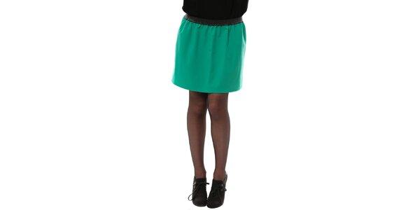 Dámská smaragdová sukně do pasu My Little Poesy
