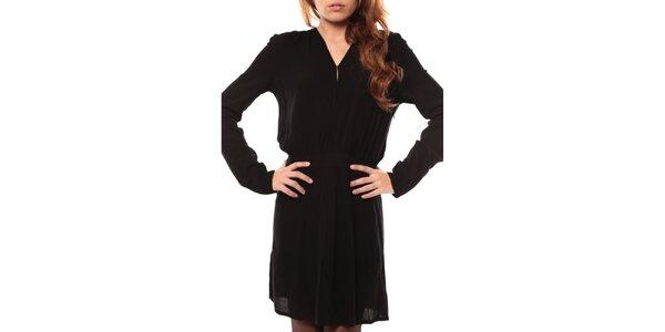 Dámské černé šaty s dlouhým rukávem My Little Poesy