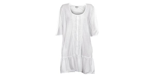 Dámská bílá noční košile DKNY