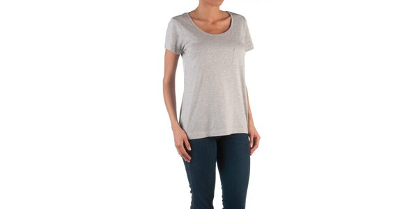 Dámské šedé tričko Womens Secret