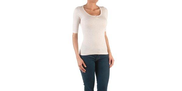 Dámské přírodní tričko se 3/4 rukávy Womens Secret