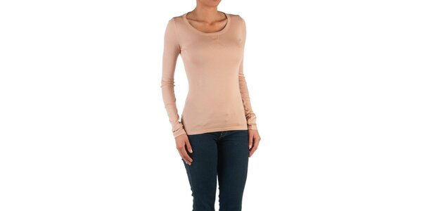 Dámské lososové basic tričko Womens Secret