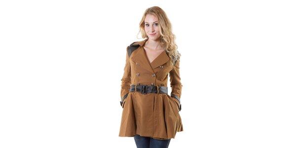 Dámský béžový kabát Yes!Miss