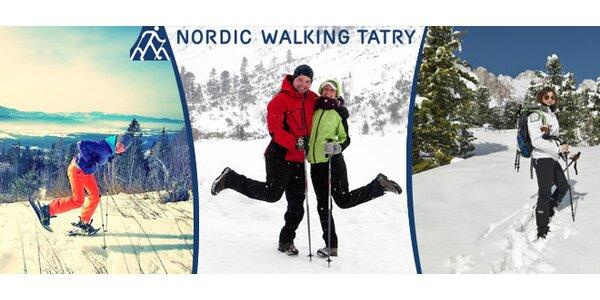 Top dovolená ve Vysokých Tatrách - nordic walking s ubytováním pro 2-6 osob