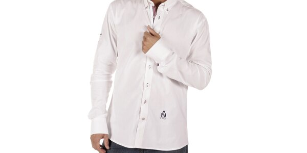 Pánská bílá košile CLK